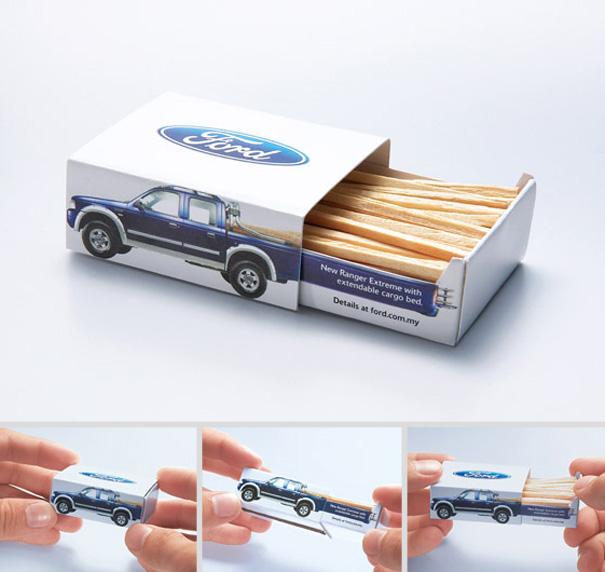 pudełko na zapałki pickup
